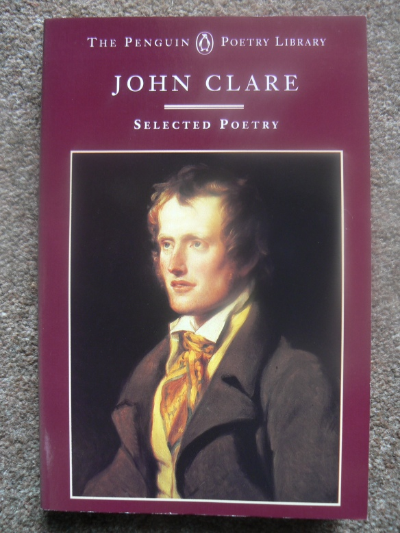 Picture of book, John Clare, Selected Poetry